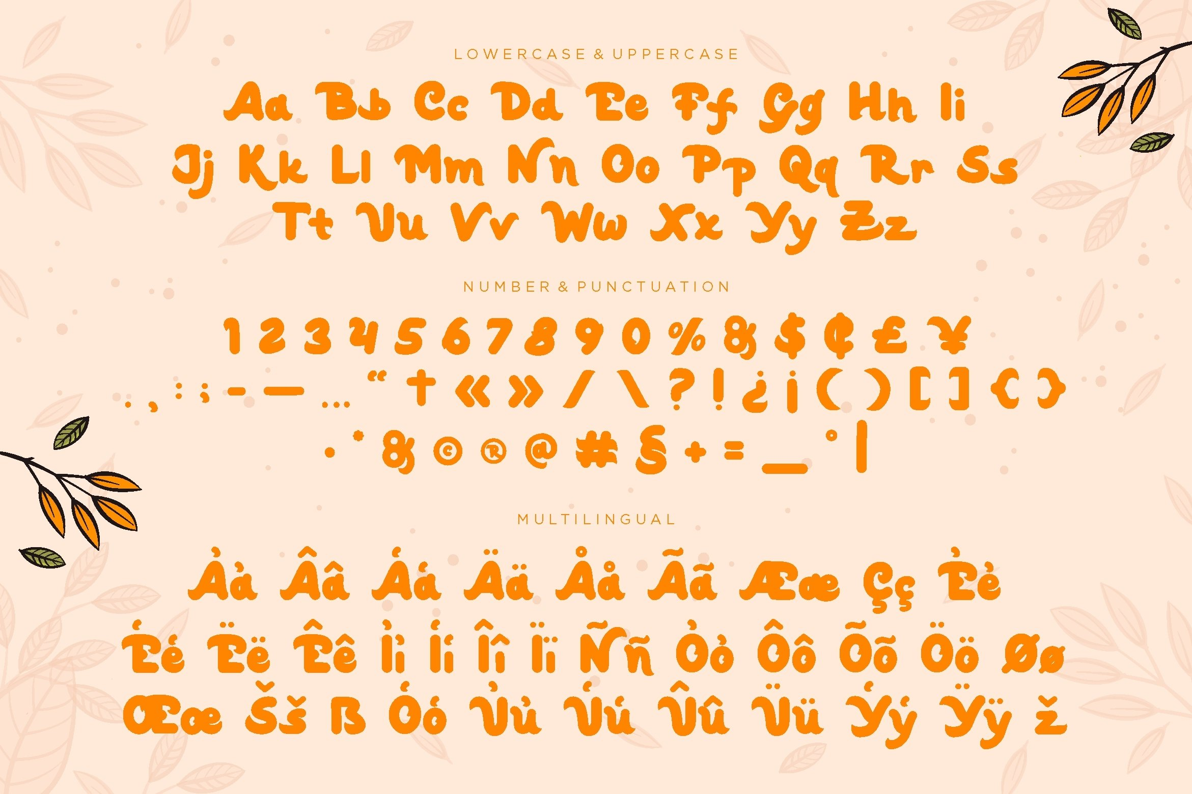 Wildone - Letter Hand Display Font example image 5