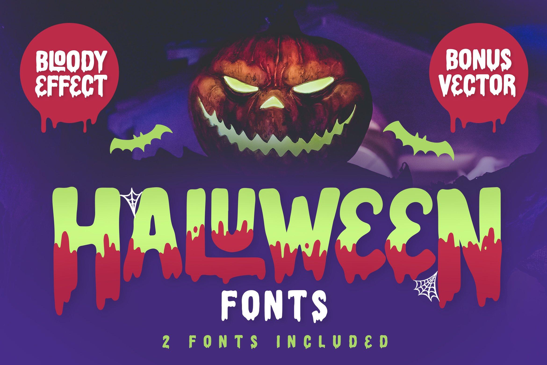 Haluween Fonts example image 1