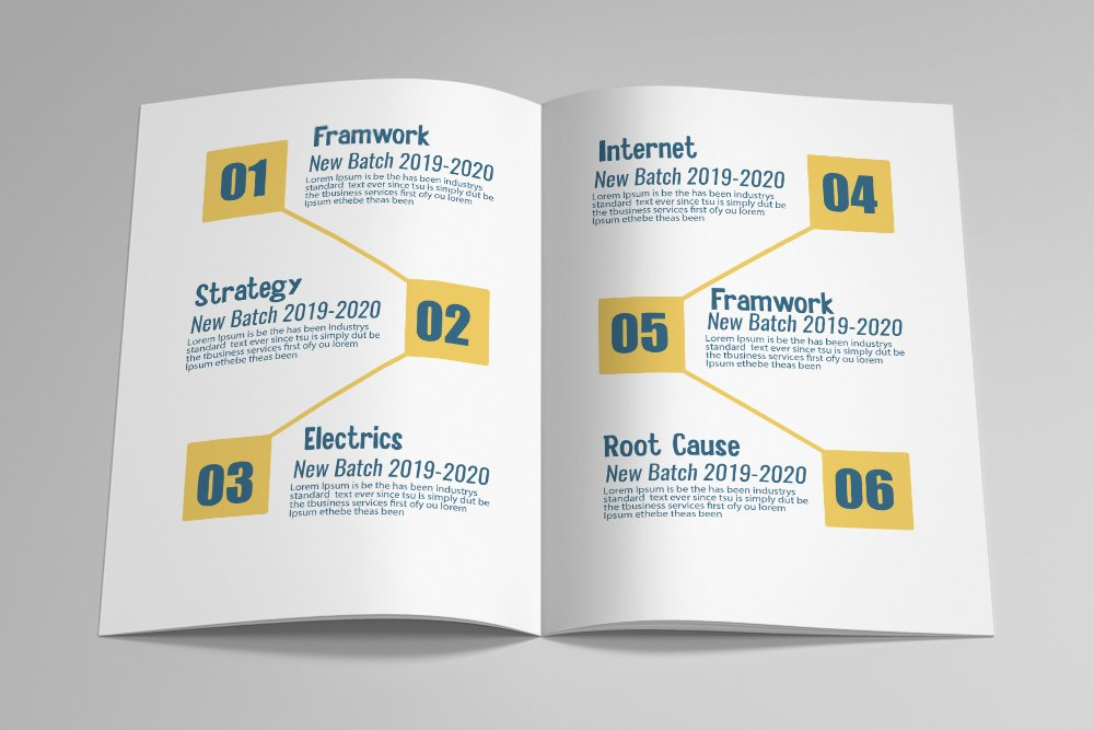 Business Catalogue Brochure 16 Pages example image 8