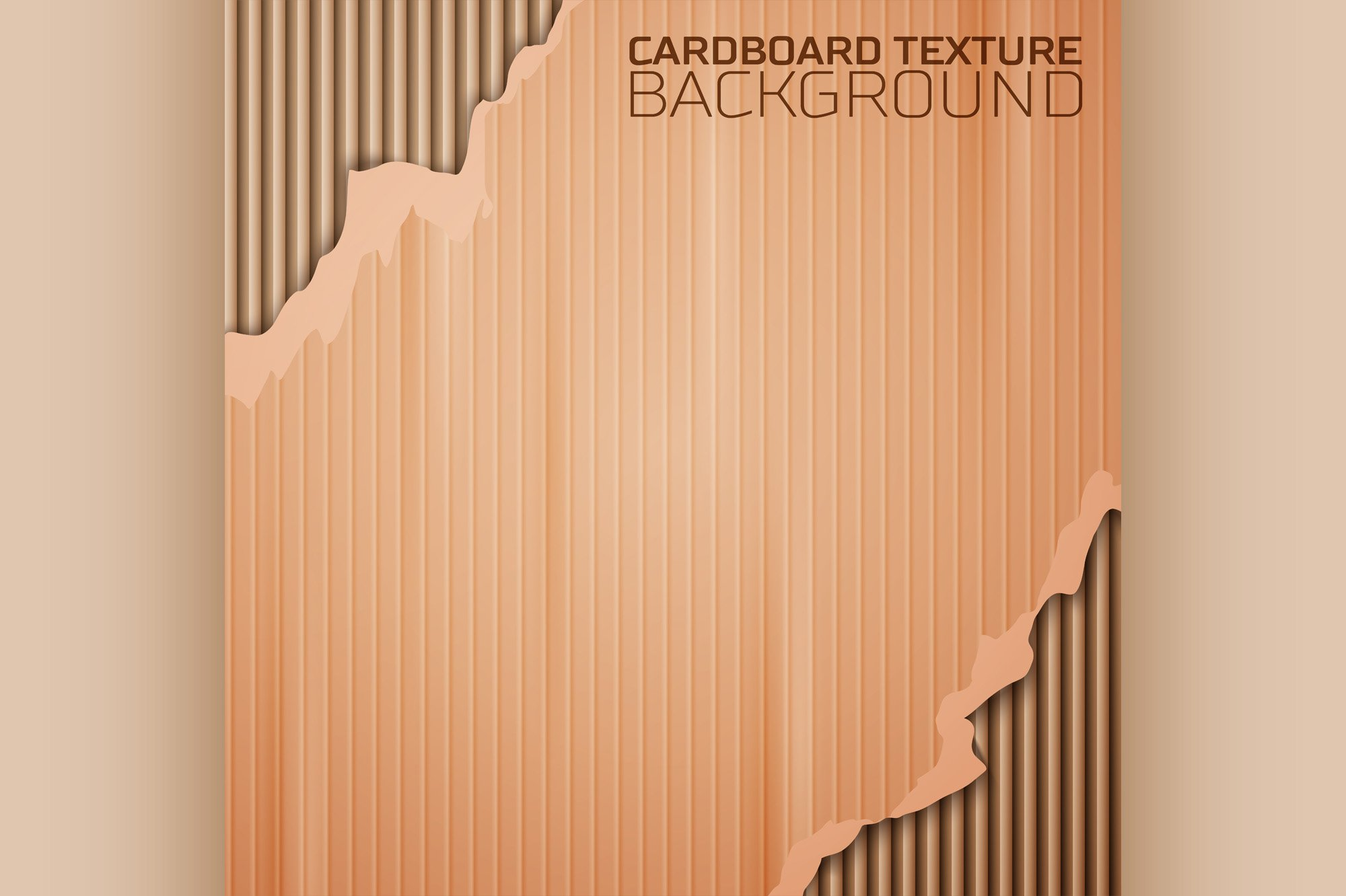 Cardboard texture background example image 1