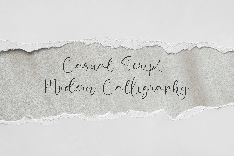 Attractive Modern Handwritten example image 3