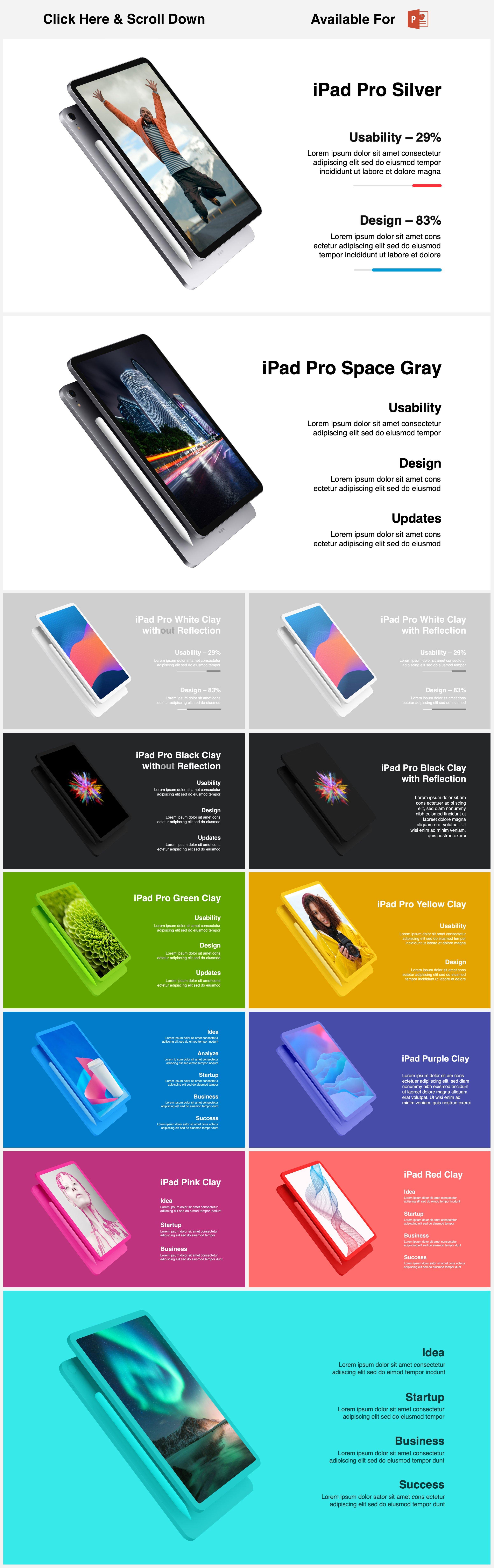 Animated Mockups Presentation Bundle. Infographic Templates. example image 24