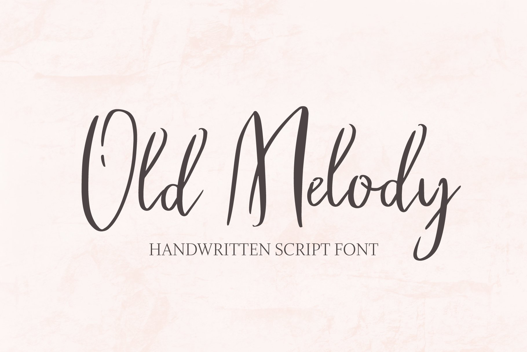 Old Melody Script Font example image 1