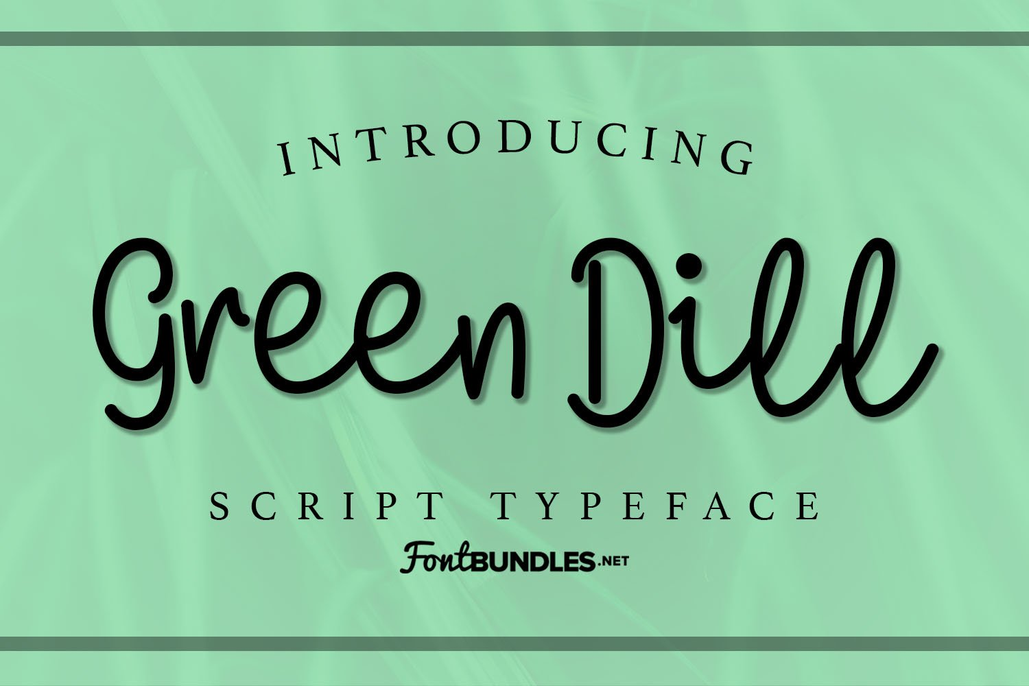 Green Dill example image 1