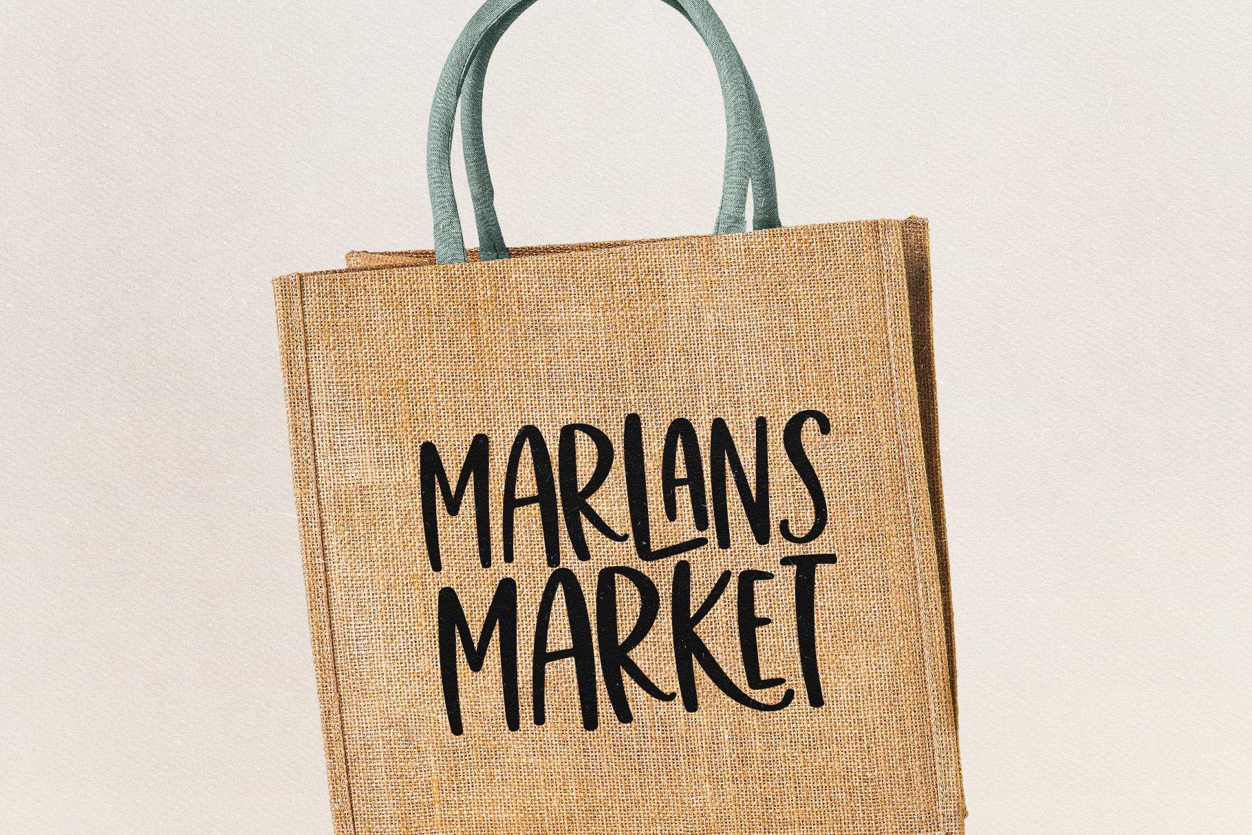 Market Street - A Fun Handwritten Font example image 6