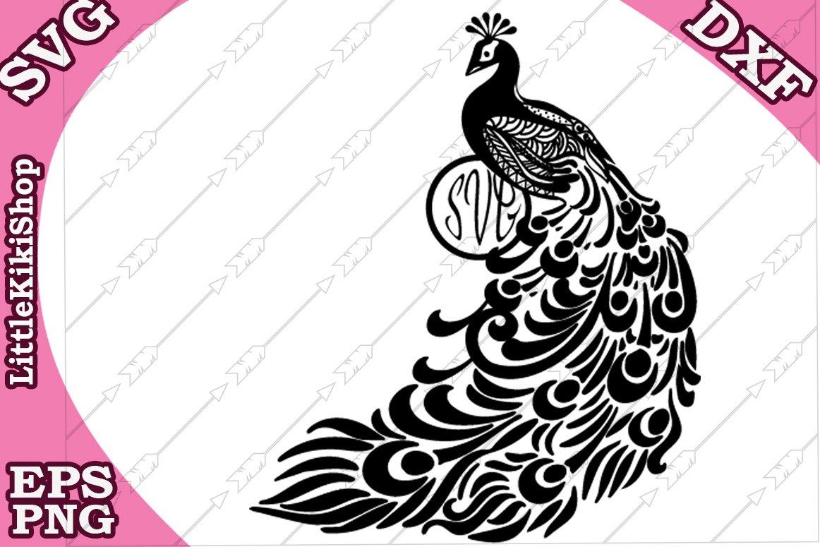 Peacock Svg Mandala Peacock Svg Zentangle Peacock Svg 235873 Svgs Design Bundles