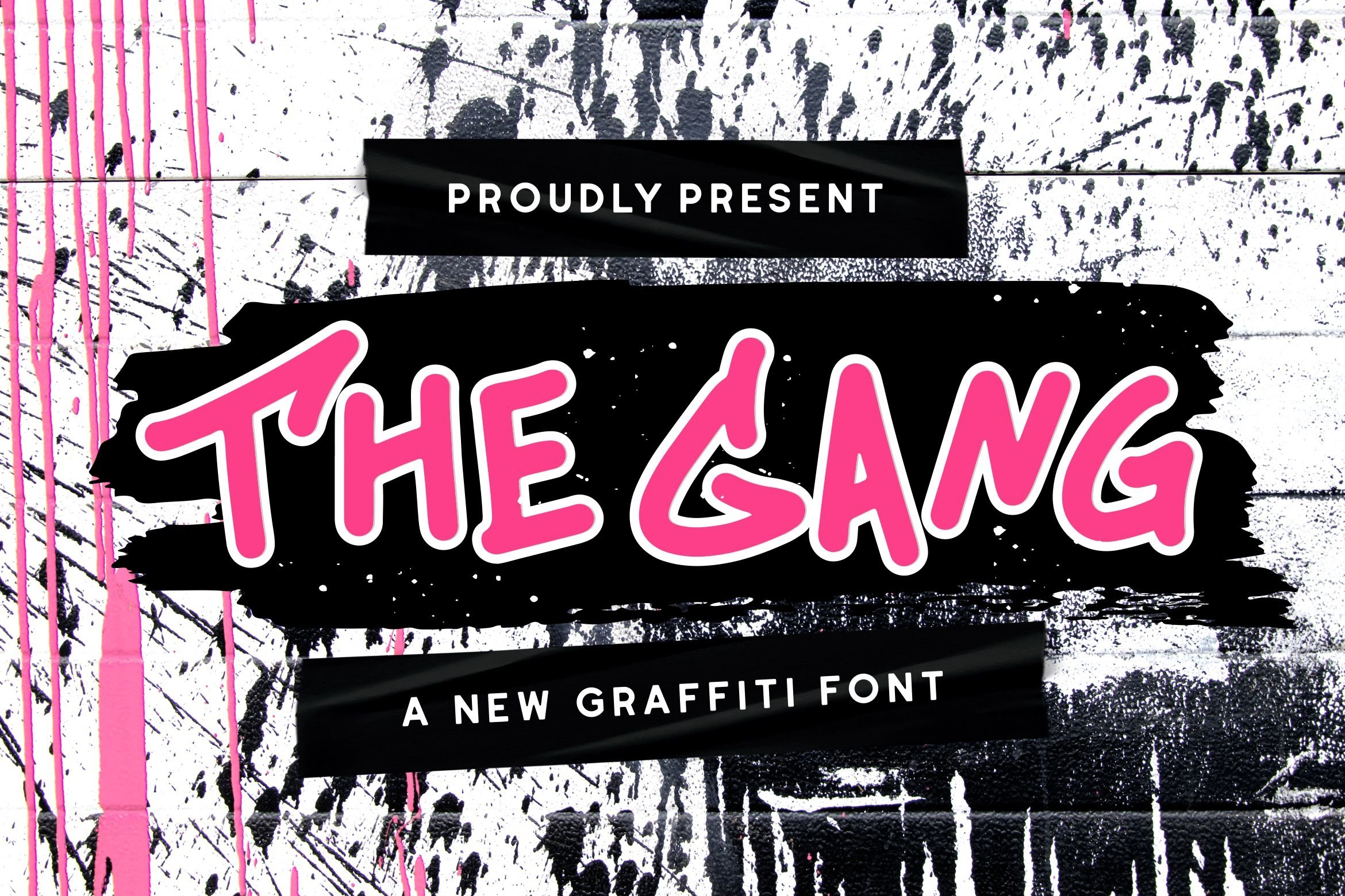 The Gang Font example image 1