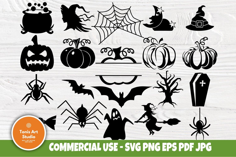 Halloween Svg Clipart Witch Svg Pumpkin Svg Ghost Svg 784897 Cut Files Design Bundles