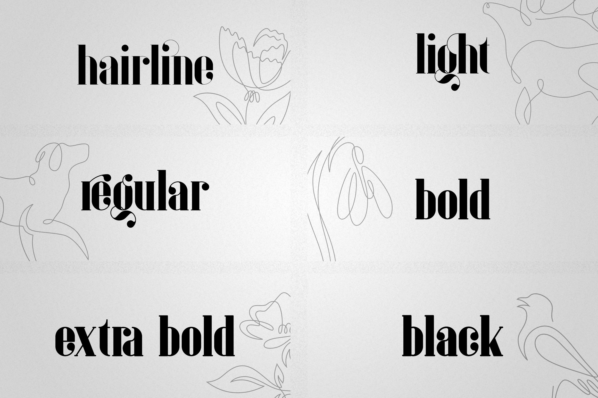 Inure - Serif Typeface More example image 3