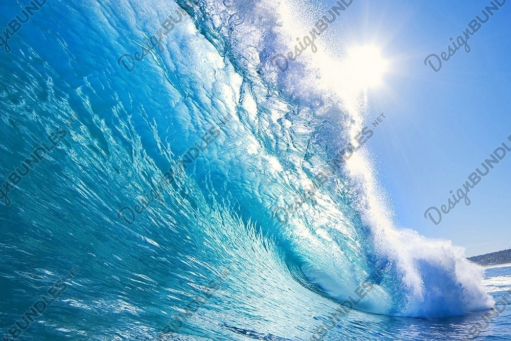 Stock Photo - Waves at the White heaven Beach example image 2