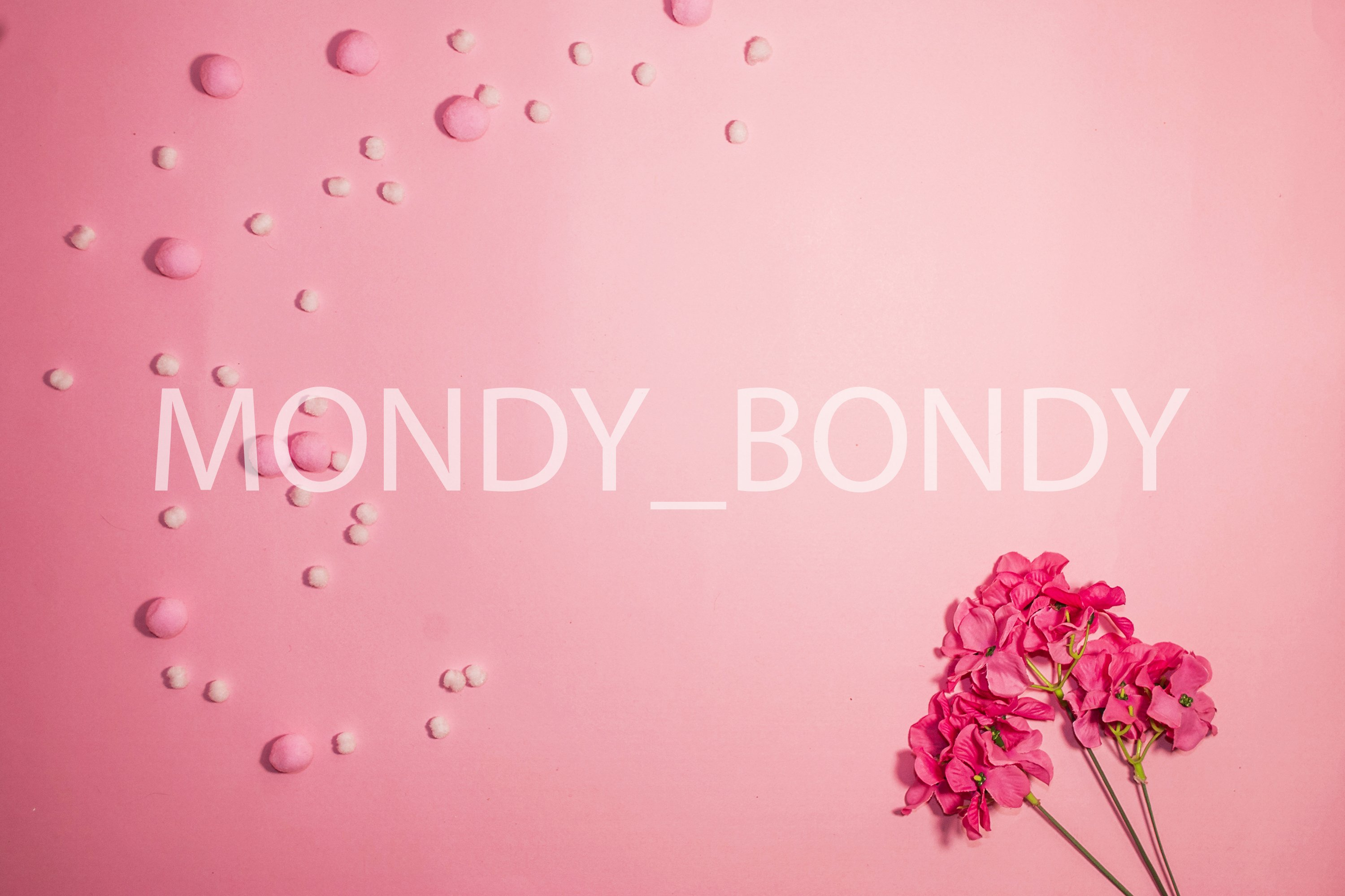 Flat lay. Flowers on a pink background. March 8. Mothers Day example image 1