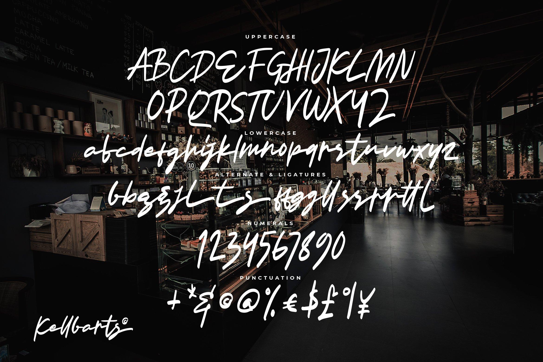 Kellbarts - Script Fonts example image 5