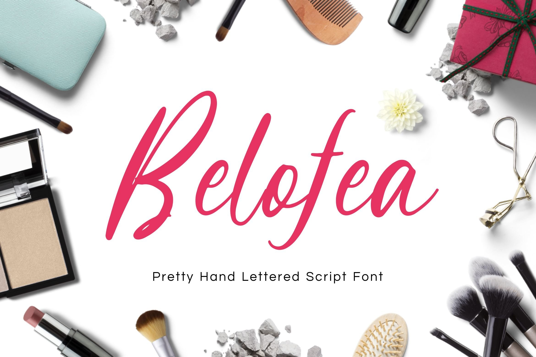 Belofea Font example image 1
