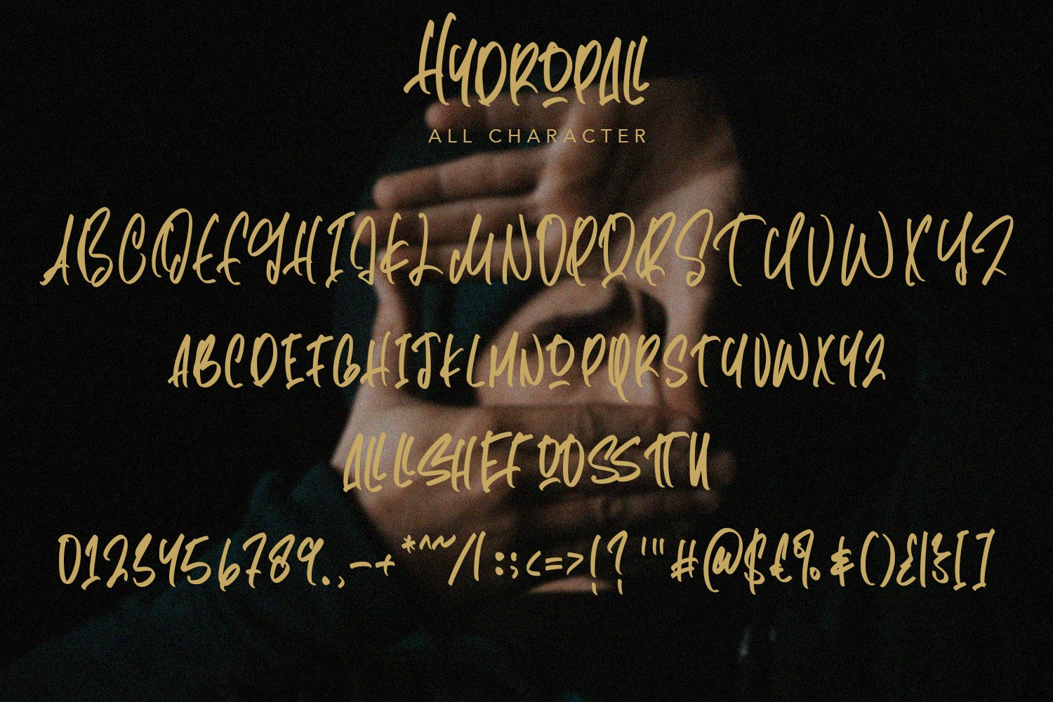 Hydropall - Modern Script Font example image 7