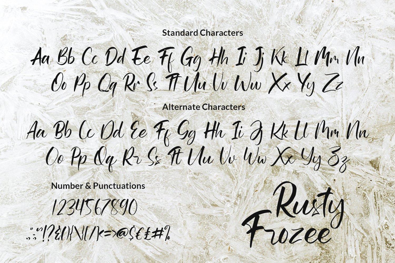 Rusty Frozee example image 7