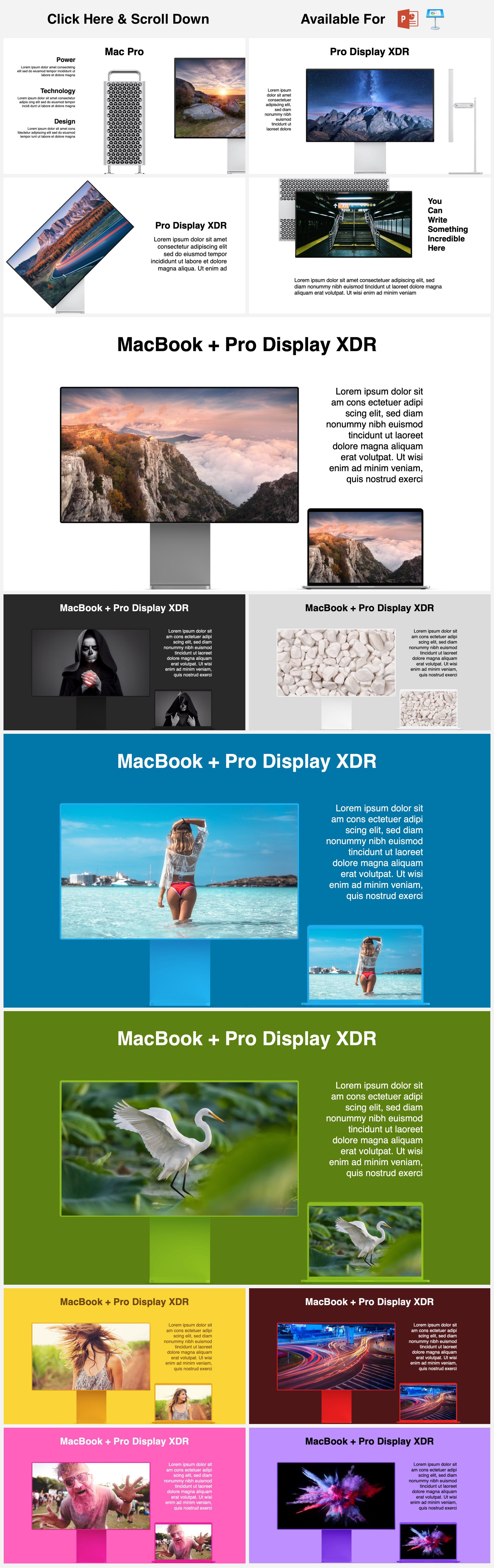 Animated Mockups Presentation Bundle. Infographic Templates. example image 6