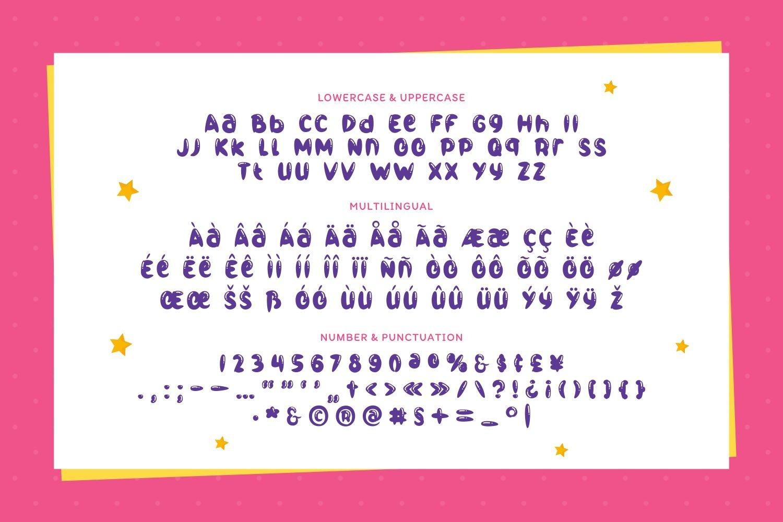 Bumblegum - Cute Balloon Display Font example image 5