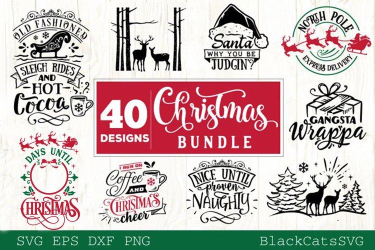 Christmas Bundle SVG bundle 40 designs vol 3