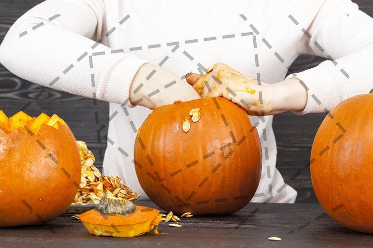 Pumpkin for Halloween example image 1