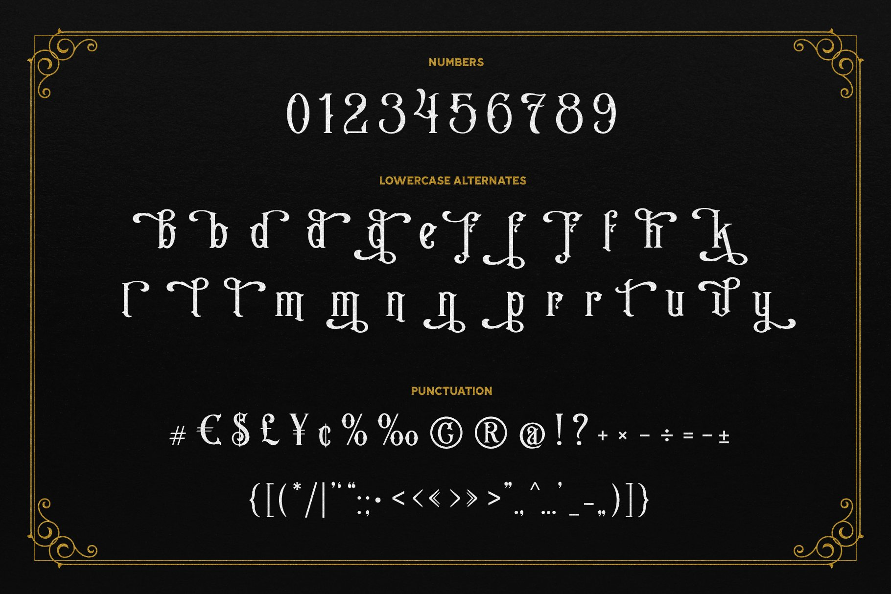 The Sign Shop Font example image 3