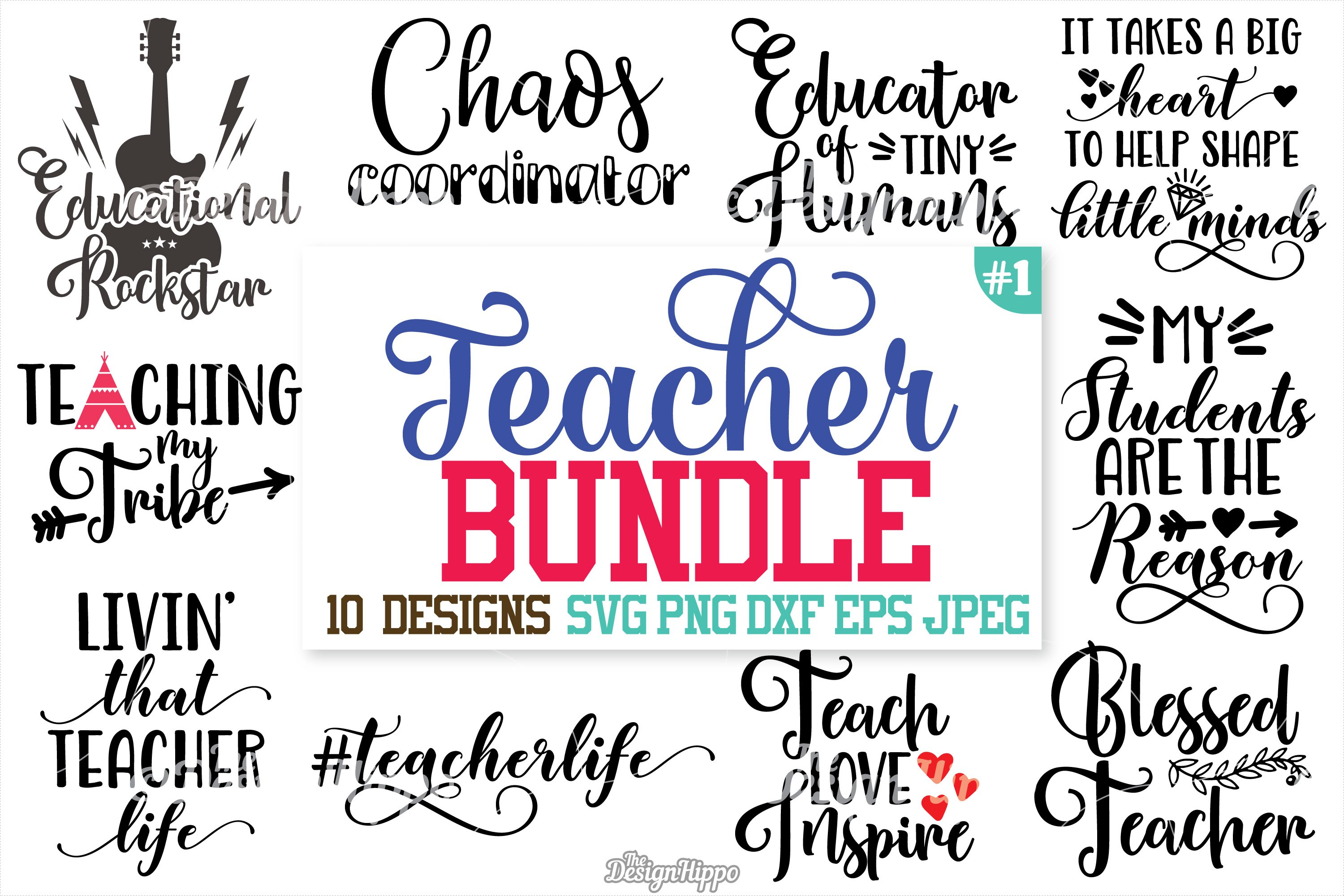 Teacher, SVG, Teacher SVG Bundle, Teacher Bundle, Cut files