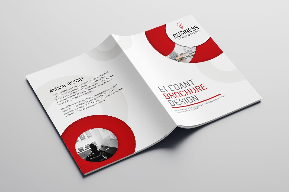 Business Annual Report Brochure 16 Pages example image 4