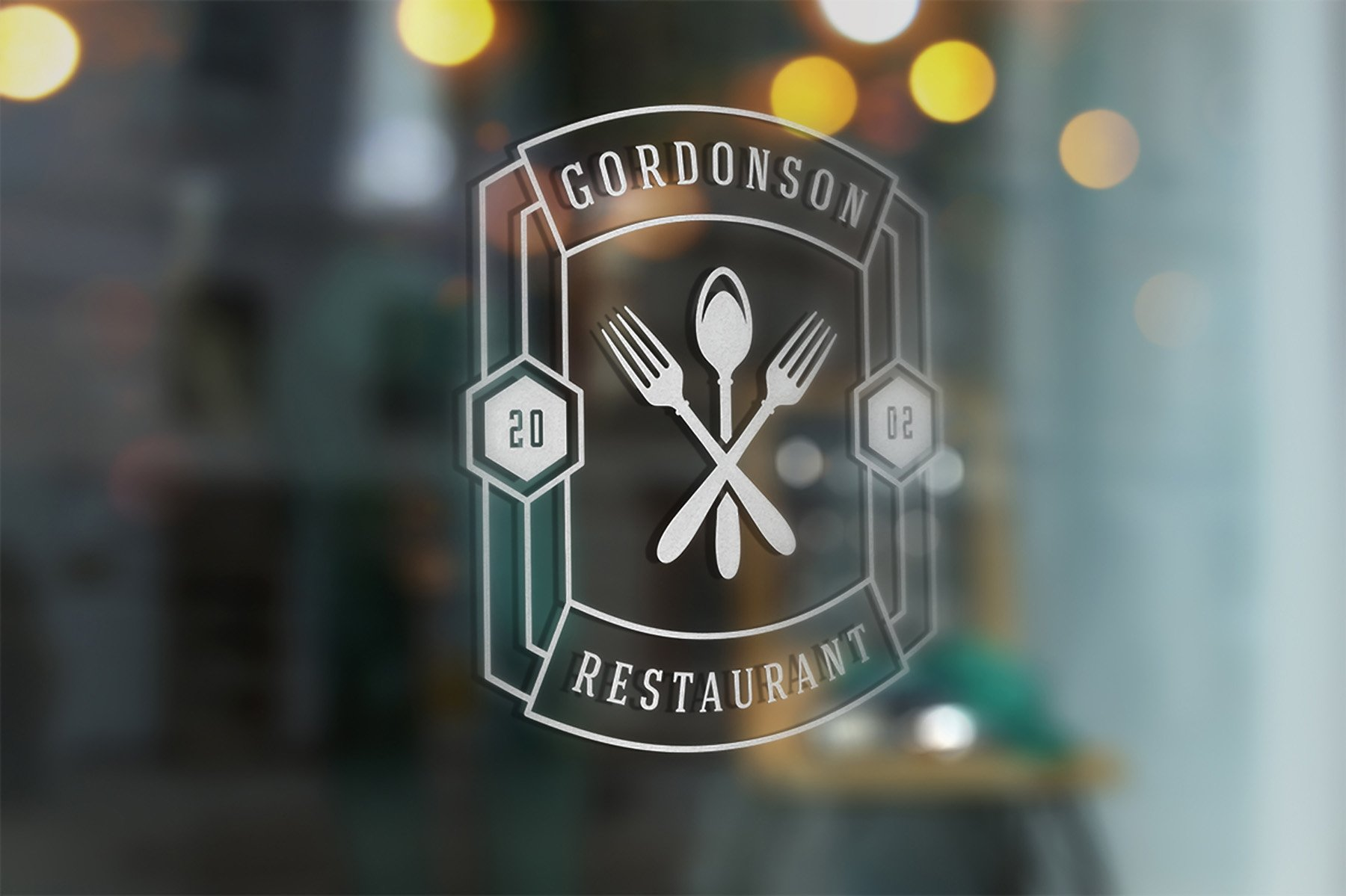 36 Restaurant Logos and Badges example image 10
