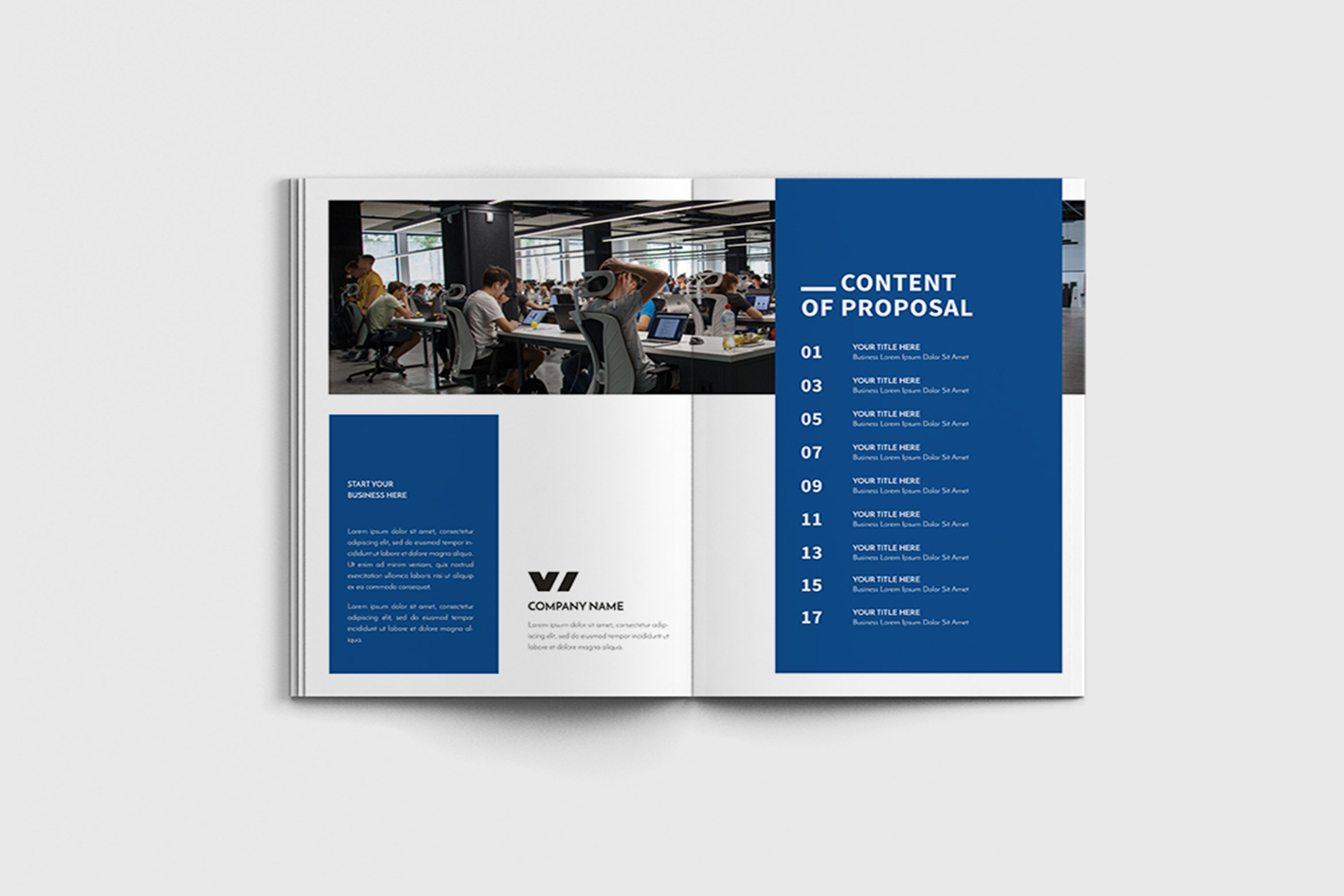 Walkers - A4 Business Brochure Template example image 4