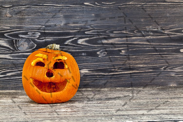 old wrinkled pumpkin example image 1