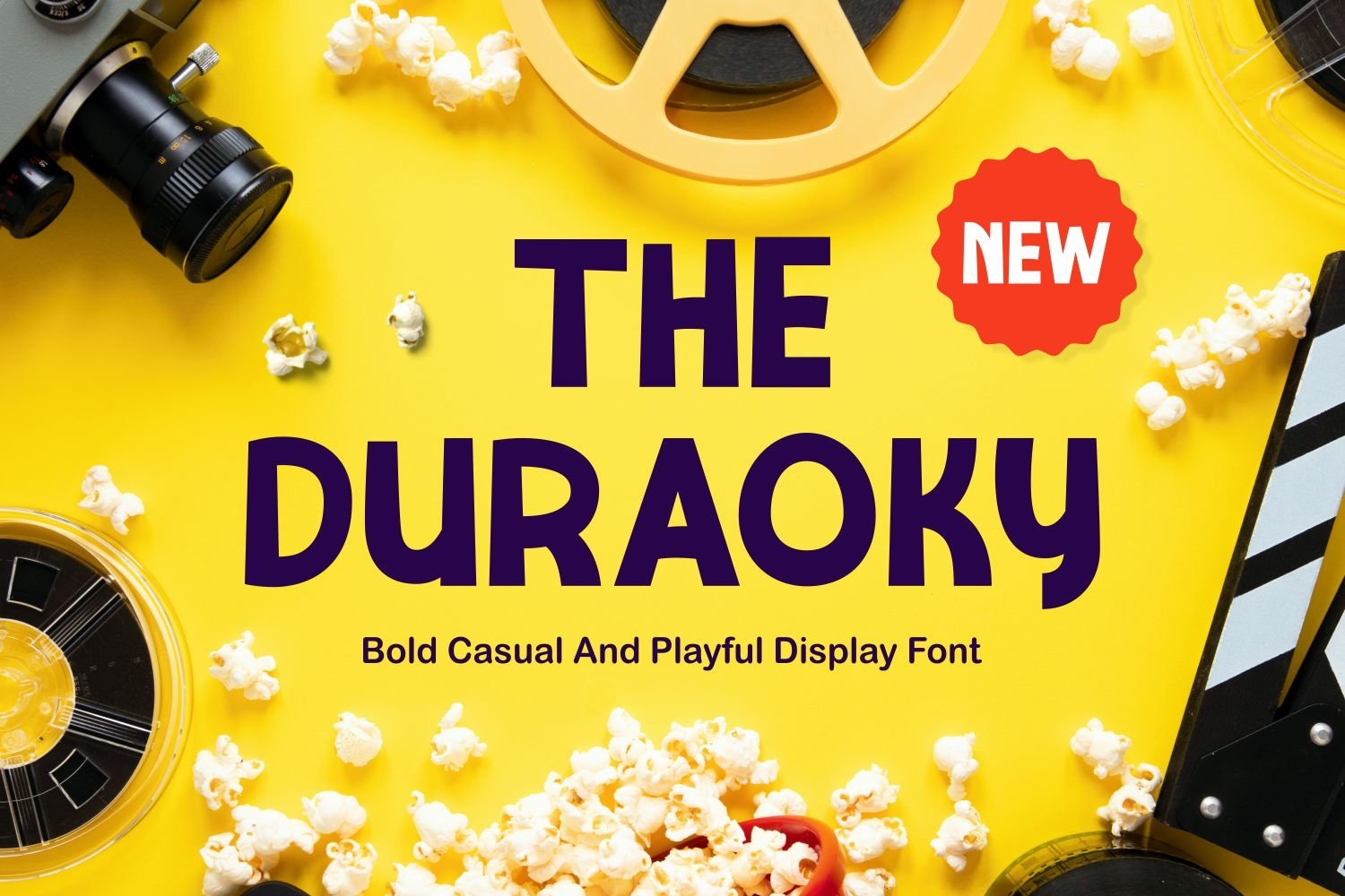 Duraoky - Casual & Playful Display Font example image 1
