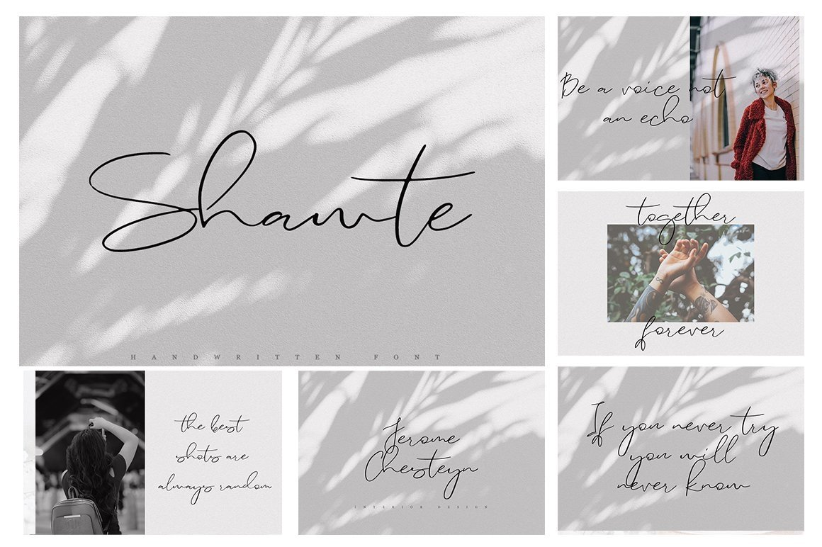 Font Bundle 70 in One example image 9