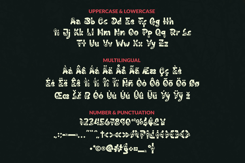 Dead Habbit Font example image 2