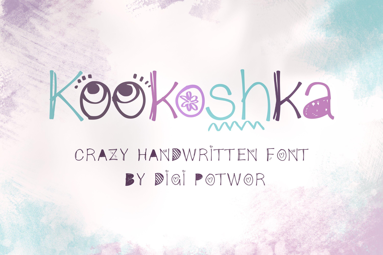 Kookoshka Font example image 1