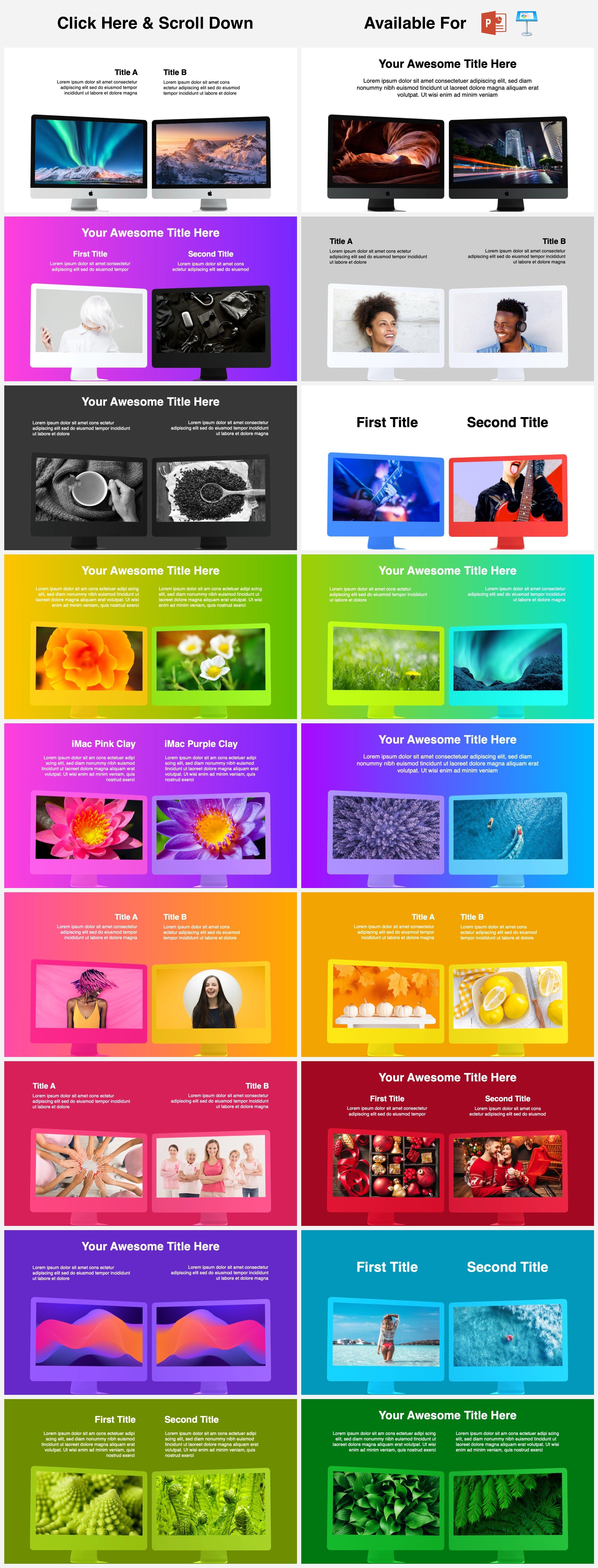 Animated Mockups Presentation Bundle. Infographic Templates. example image 7