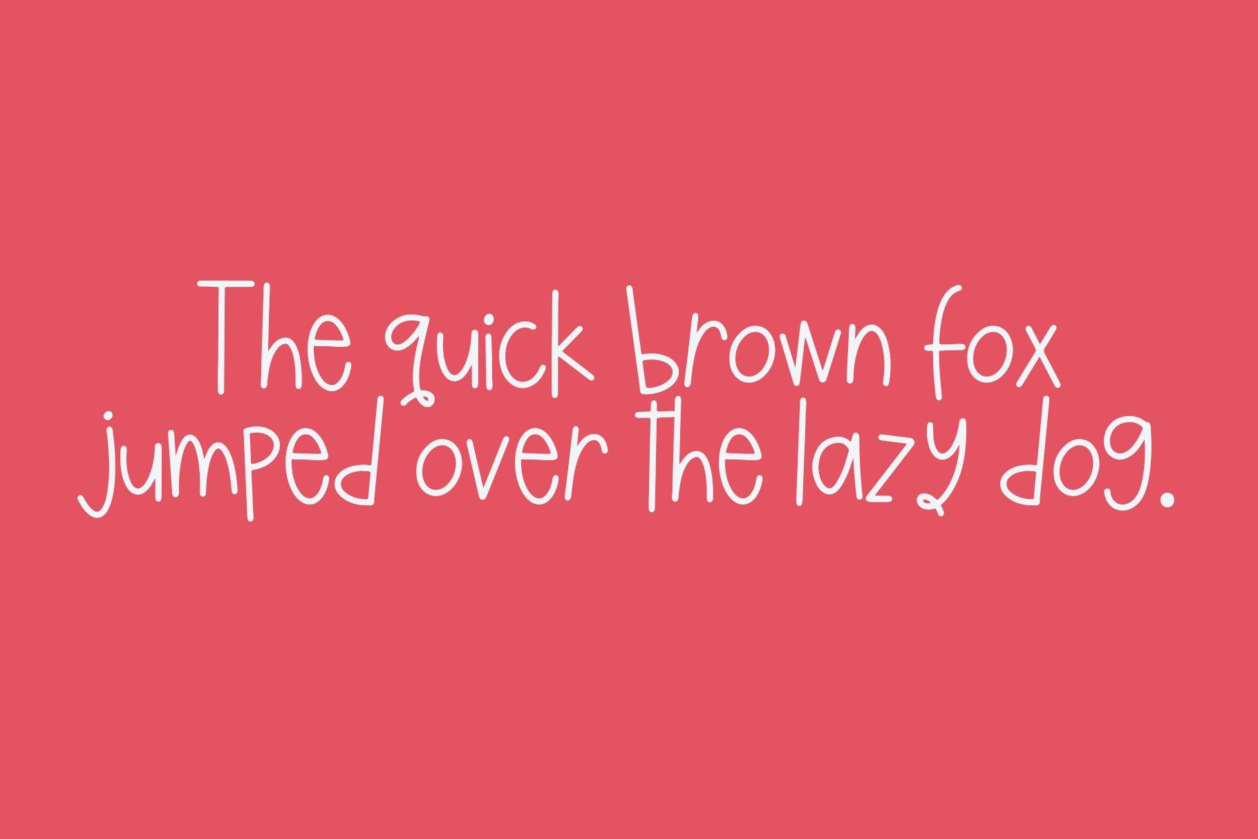 Kiwi Lemonade - A Quirky Handwritten Font example image 9