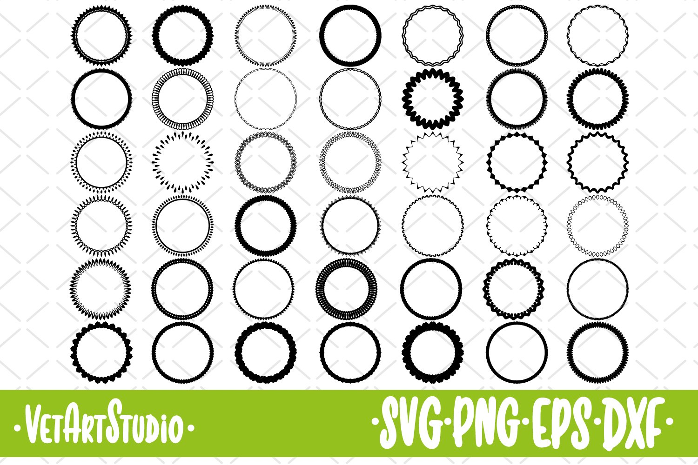 Download 42 Circle Frames Round Border Svg 455612 Svgs Design Bundles