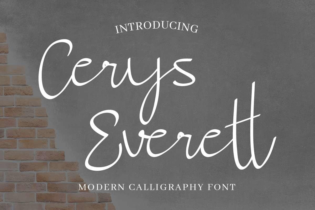 Cerys Everett example image 1