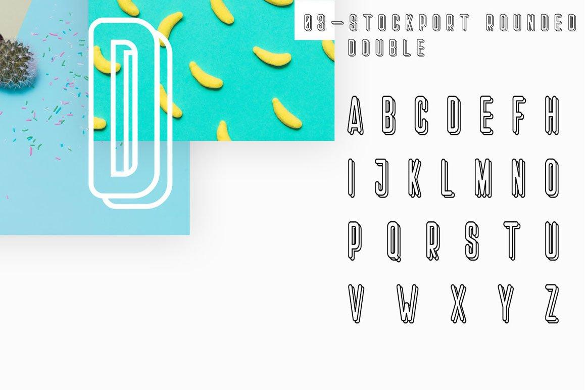 Stockport Rounded + Bonus Logo example image 11