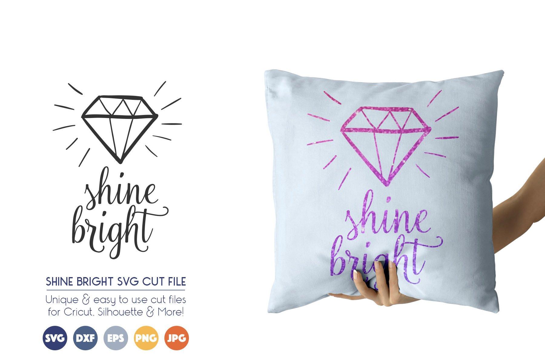 Shine Bright SVG Cut Files example image 1