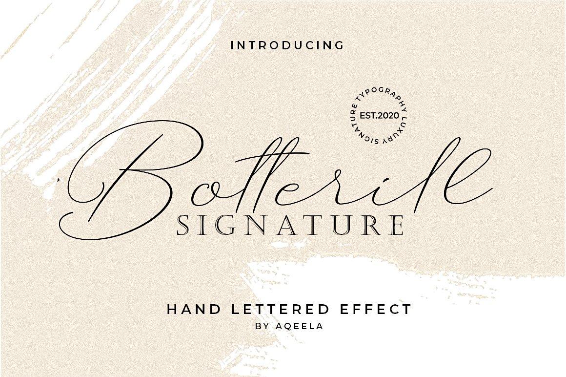 Botterill Signature example image 8