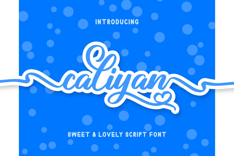 Caliyan example image 1