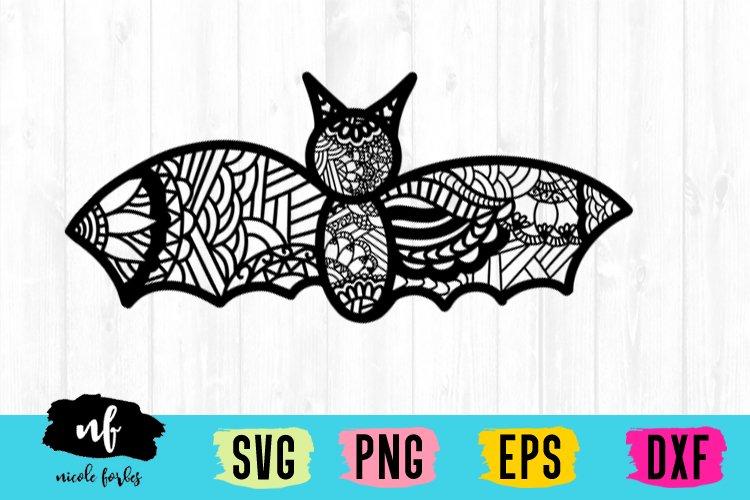 Bat Zentagle SVG example image 1