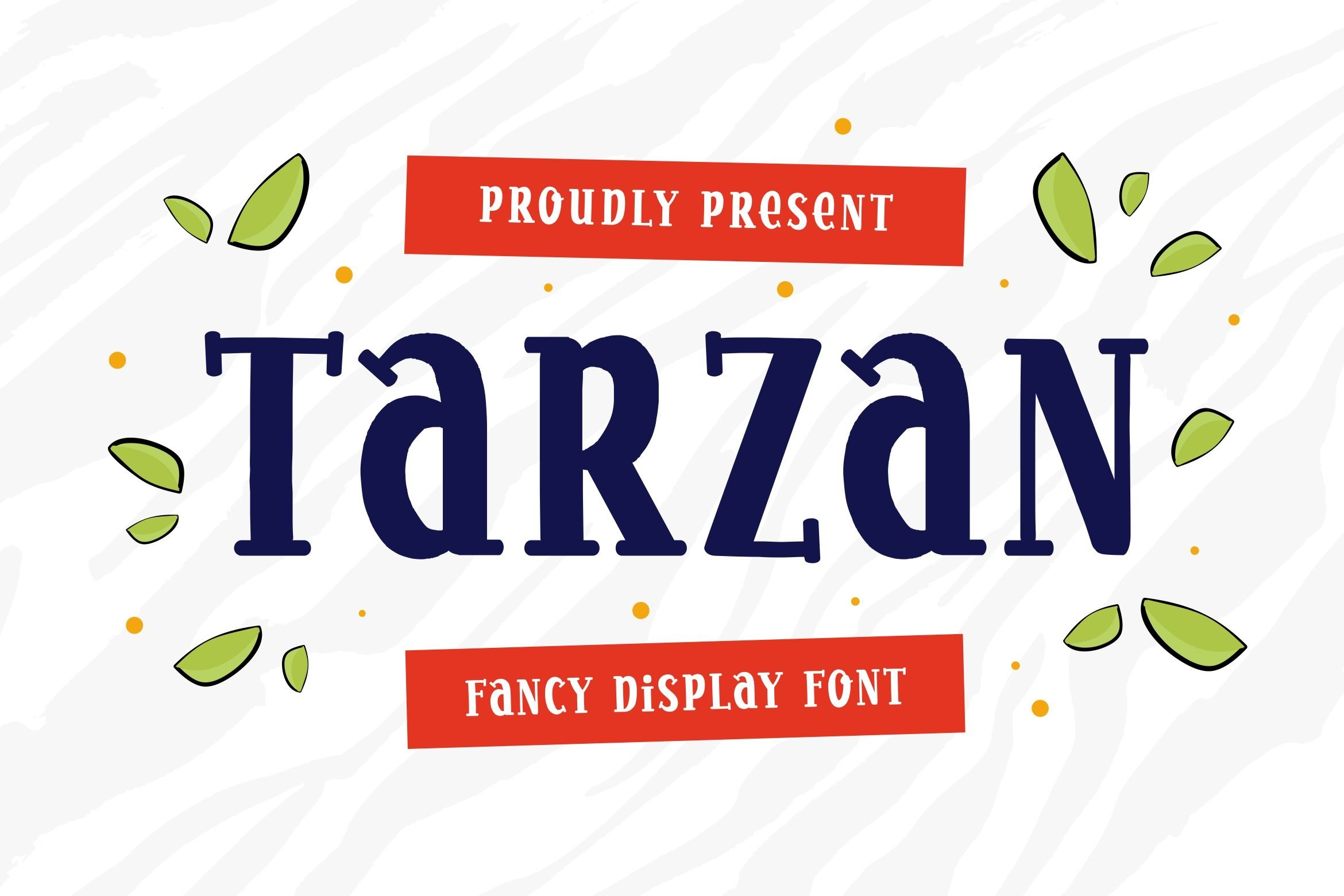 Tarzan - Display Font example image 1