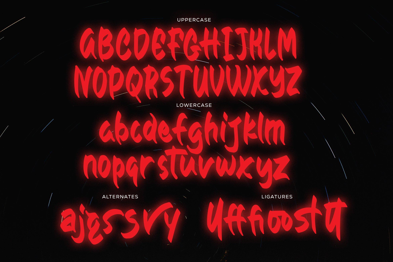 Avoston - Sans Font example image 6