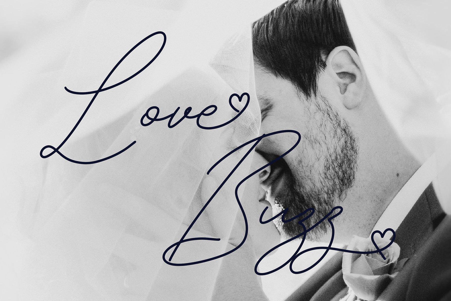 Syahrita Beautiful Romantic Font example image 4