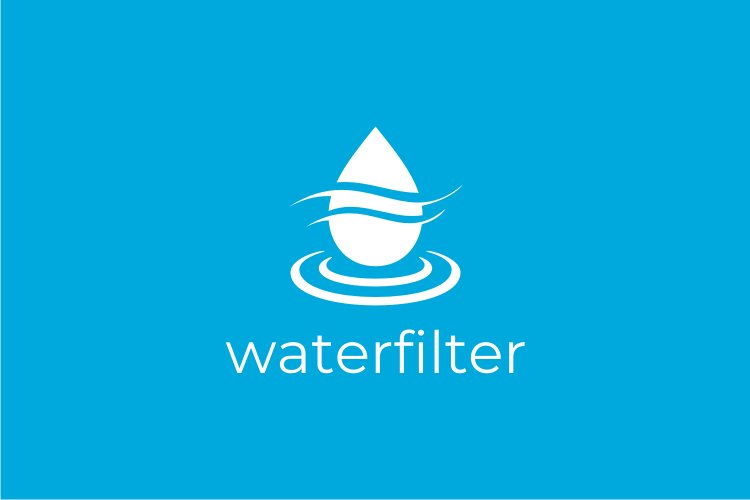 Water Filter Logo example image 3