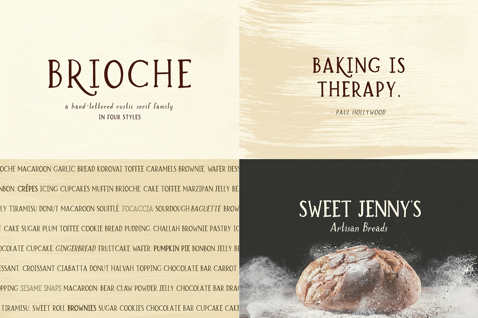 The Farmhouse Font Bundle by Beck McCormick example image 4