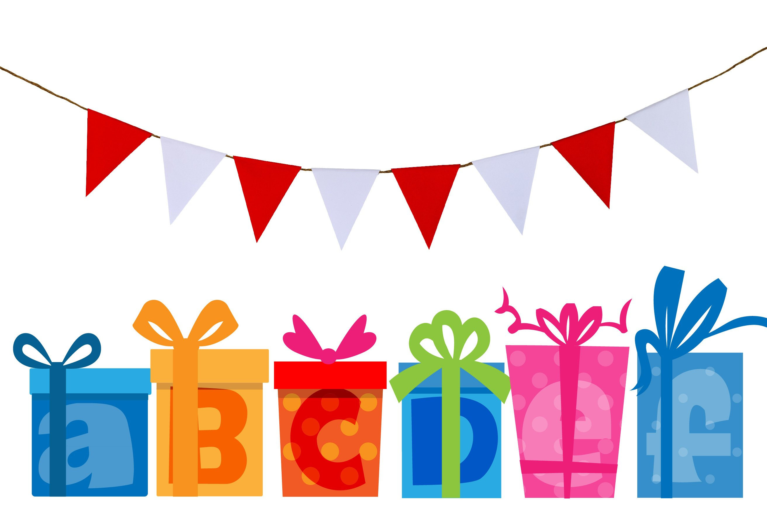 Birthday SVG Font Duo example image 11