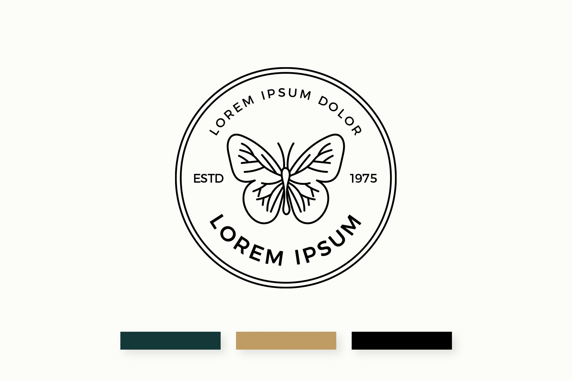 Butterfly Logo & Business Card Templates example image 2