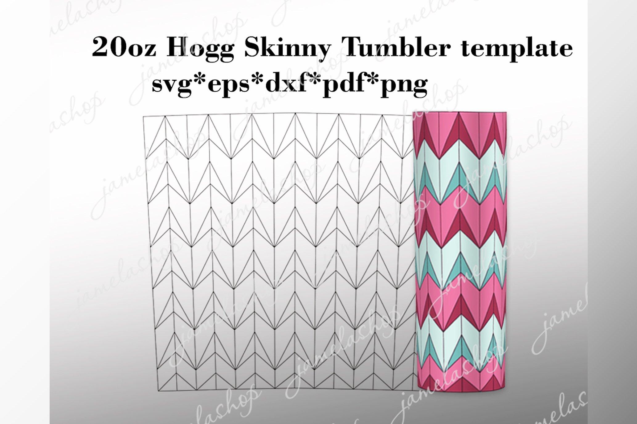 split cut file vsplit tumbler svg tapered Skinny  SVG V Split Tumbler SVG Template 20 oz V split Hogg Skinny Tumbler Template svg Hogg V